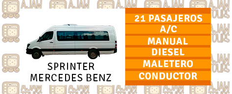 SPRINTER-MERCEDES-BENZ 21 PASAJEROS